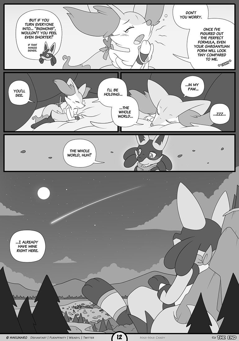 Maxi-Maxi Candy | Page 12 | The End