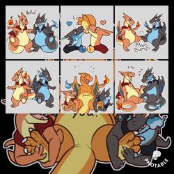 Chard & Ekusu Telegram Sticker 🐾