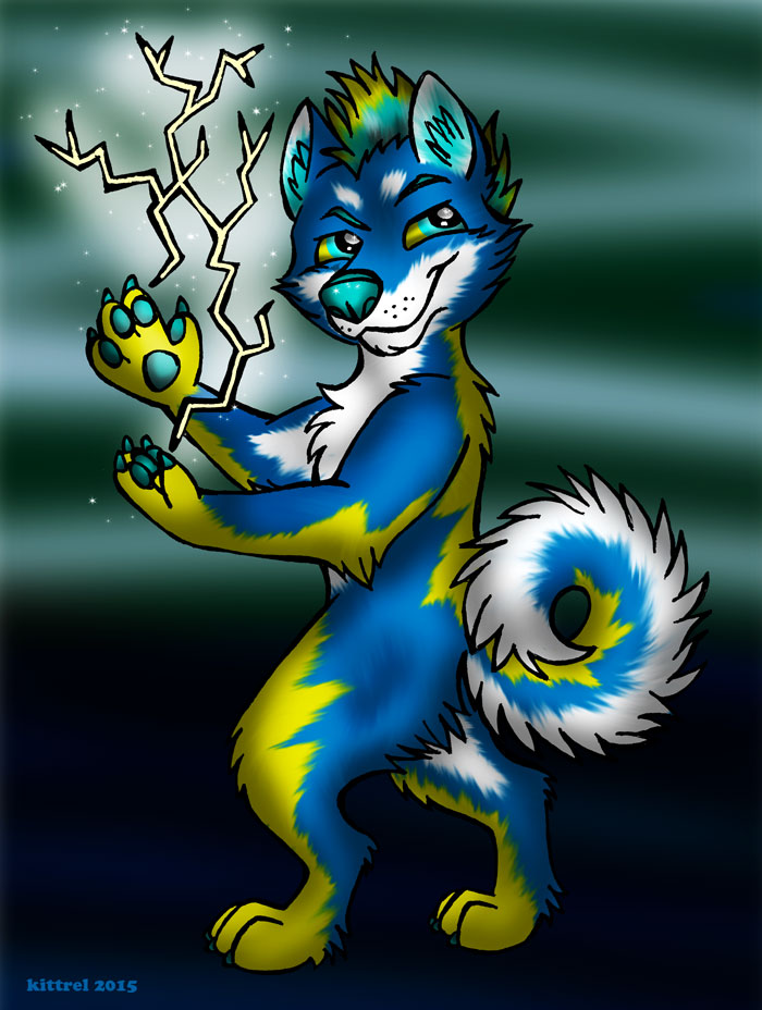 Lightning Husky
