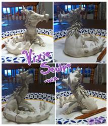 Vixie Sculpt -WIP- 2