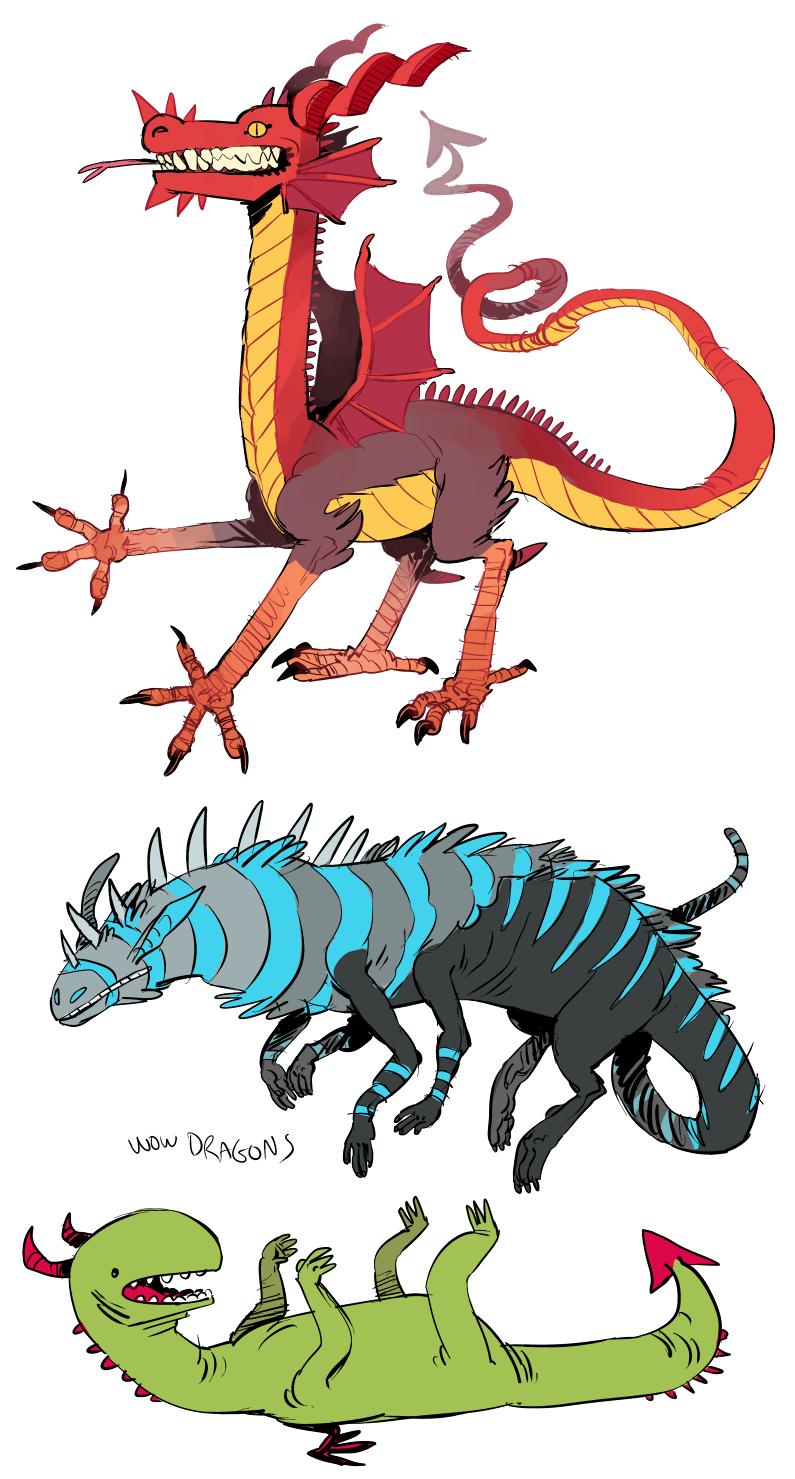 wow dragons