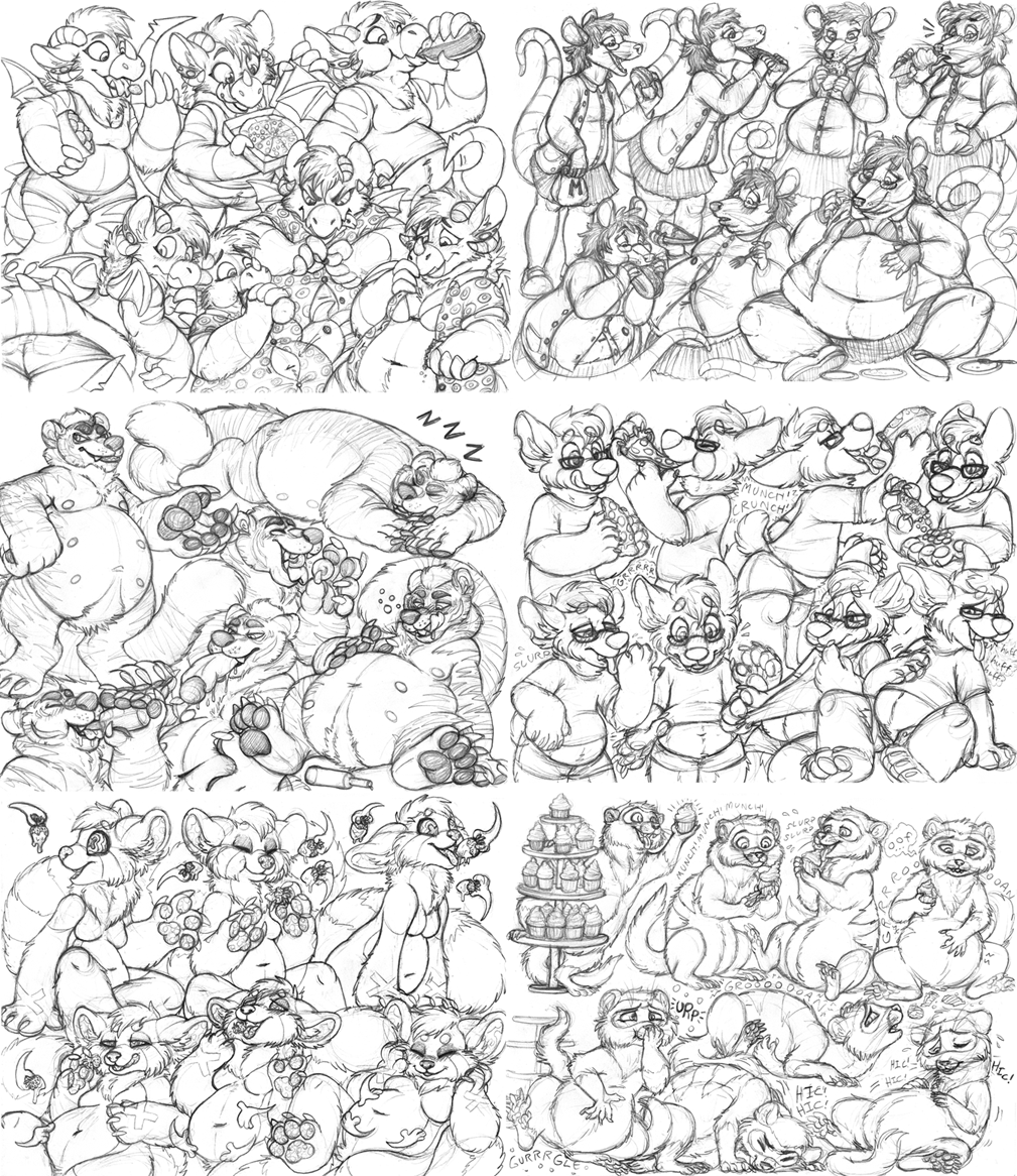 sketchpage examples - tummy theme