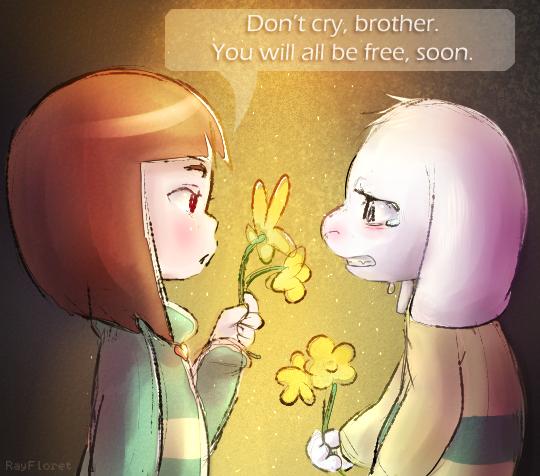 Please Stay [UT Spoilers]
