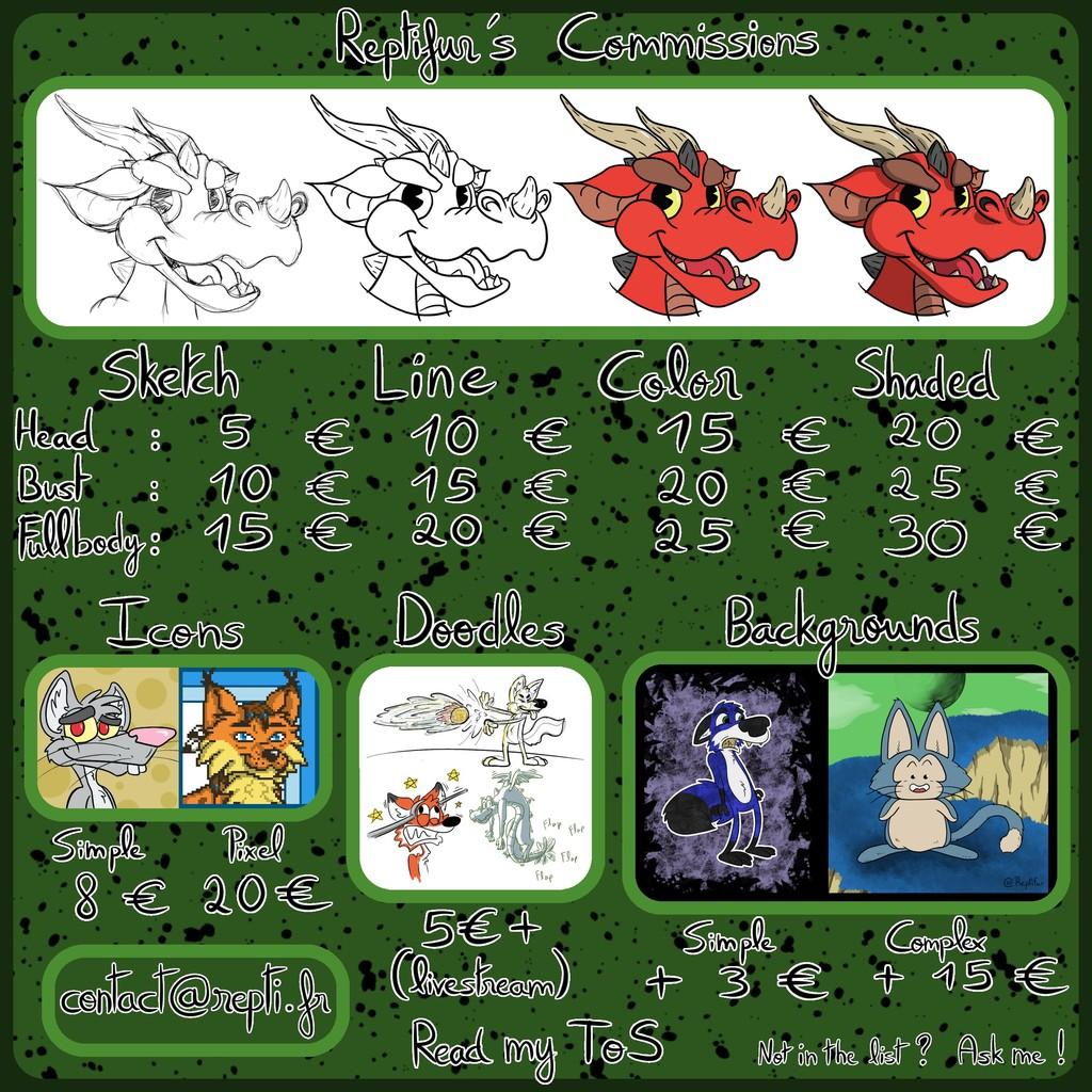 Featured image: Pricesheet Reptifur