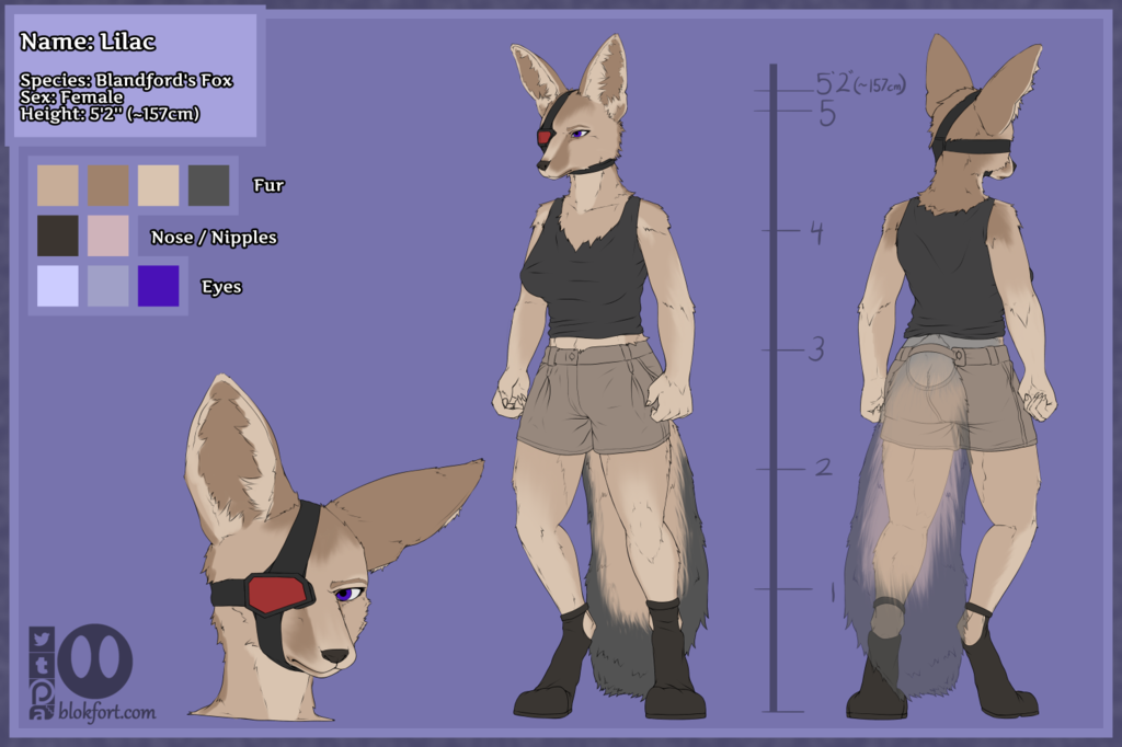 Lilac Character Sheet Clothed