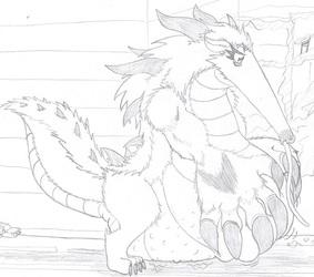 Cafe Special- Anteater Annihilation [Kaiju, Vore]