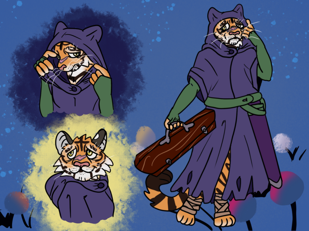 Most recent image: Wanderhome Character Sheet