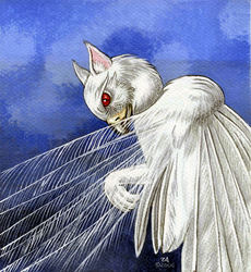 Albino Heron Gryffon