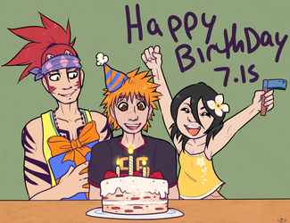 Happy birthday ichigo!