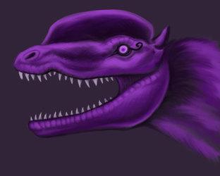Dilophogothosaurus Face