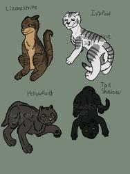 Warrior Cats Batch