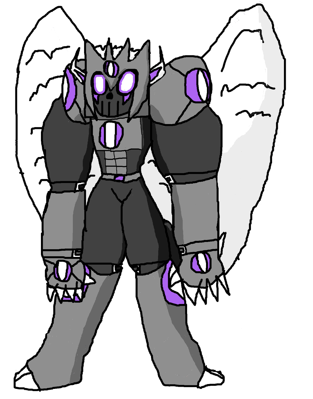Most recent image: RedeMyotismon - Digimon concept