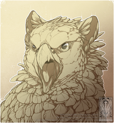 Sketch Comish - Angry Floof