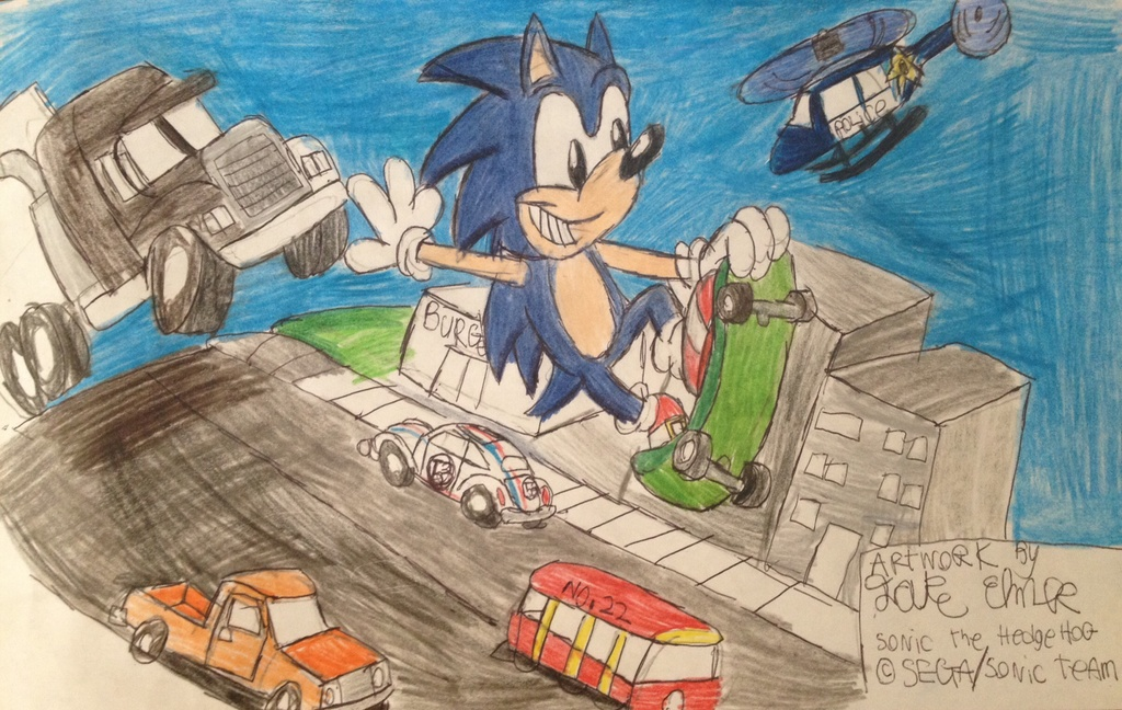 Sonic's Escape from the City