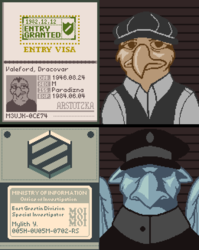 Papers, Please Con Badges