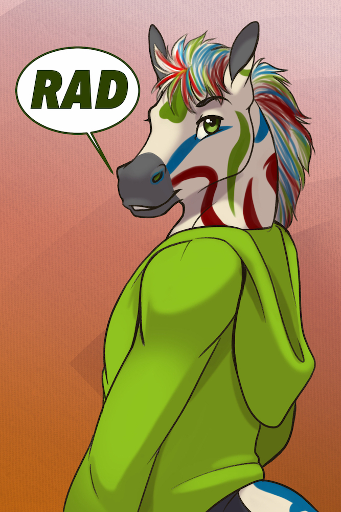 Badge: Rad