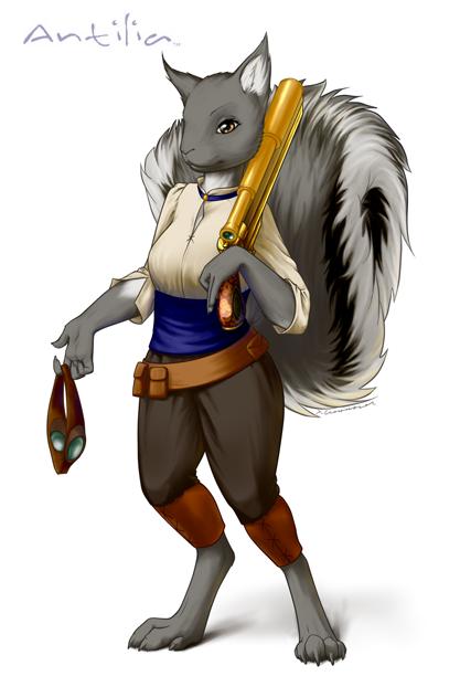 Antilia--Female Reisuii