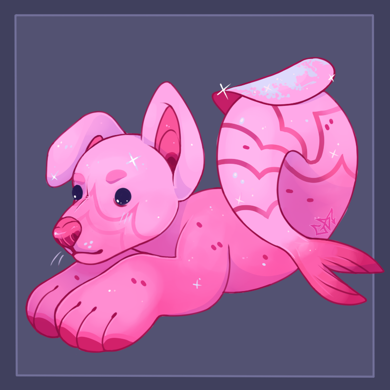 Shrimp Glitter [Artfight 2020]