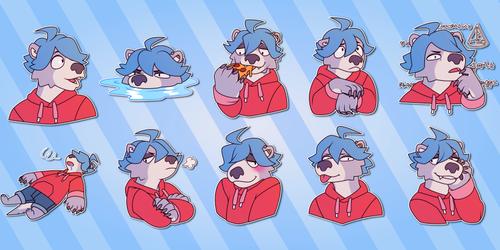 Thomas Telegram Stickers