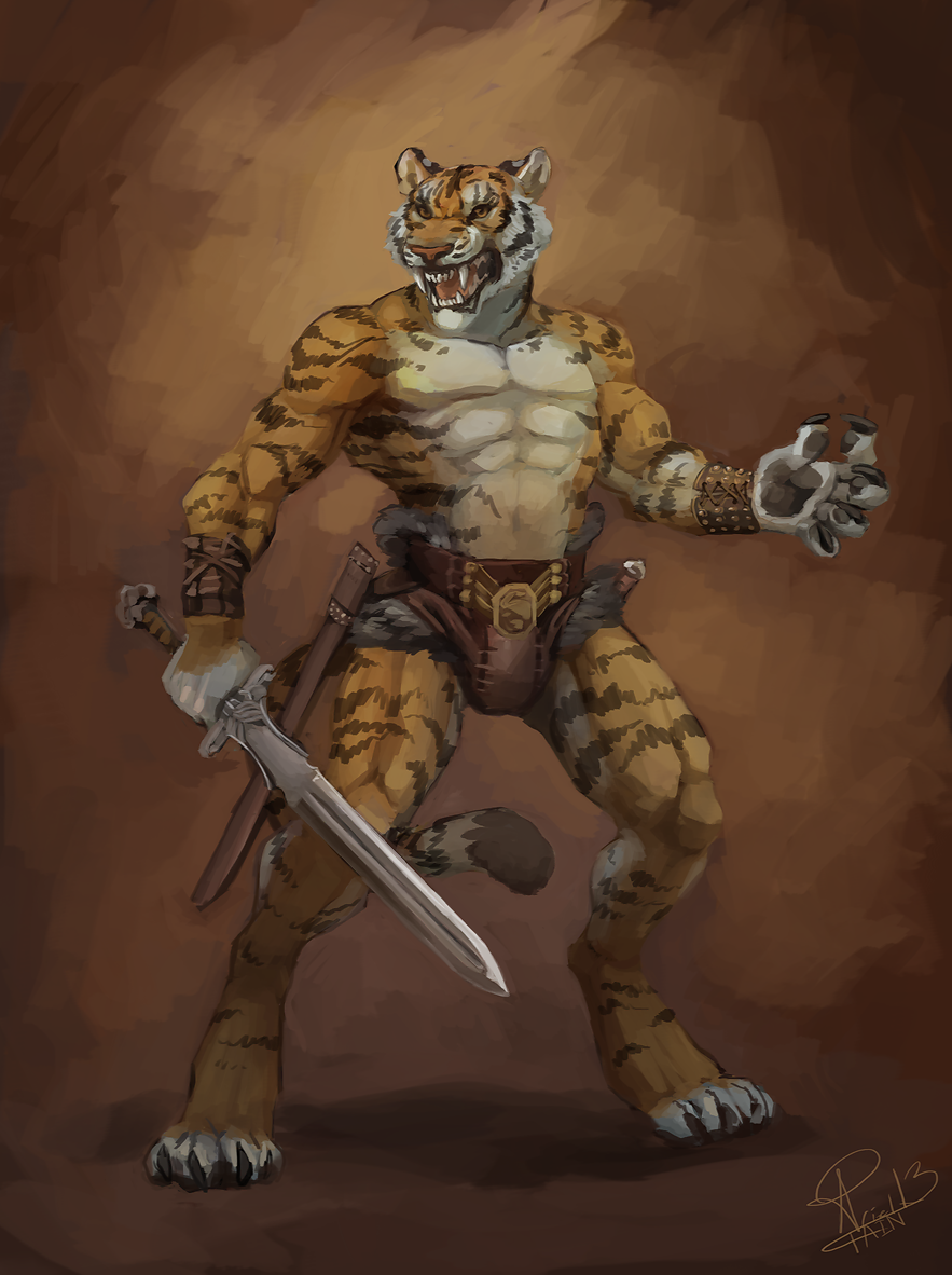 Most recent image: Conan Tiger - COMMISSION