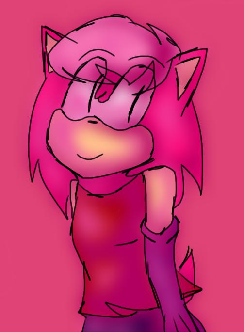 Pink Sonic in Sonic Underground