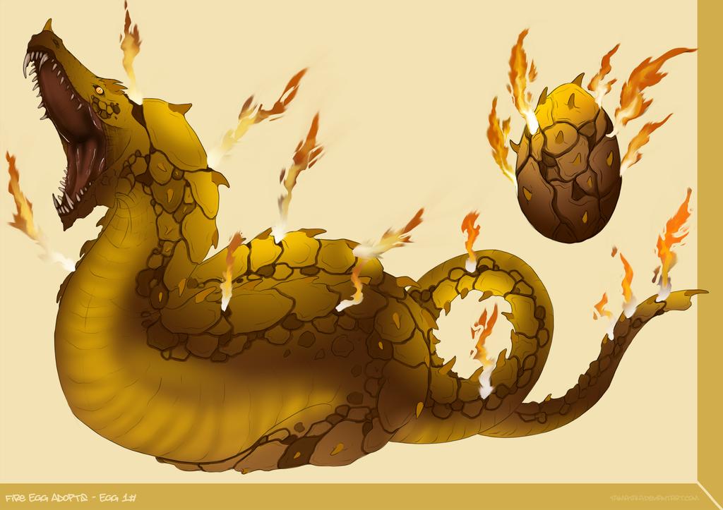 [Speical] Fire Egg Adopts - Egg 1#