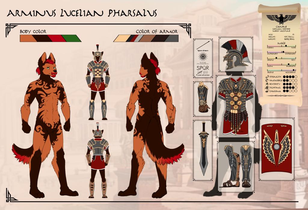 Roman Centurion Doggo [updated]
