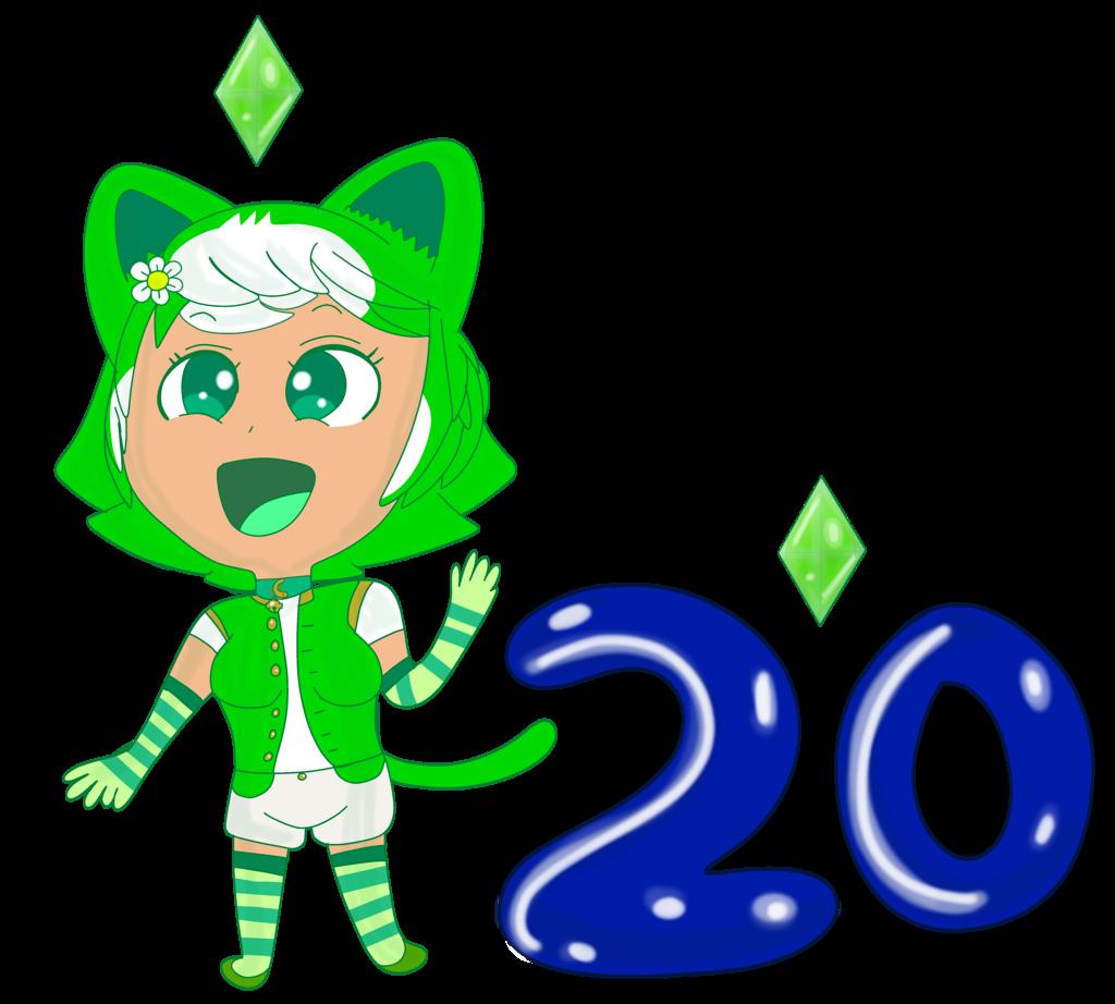 Emeraldia Sims 20 Years