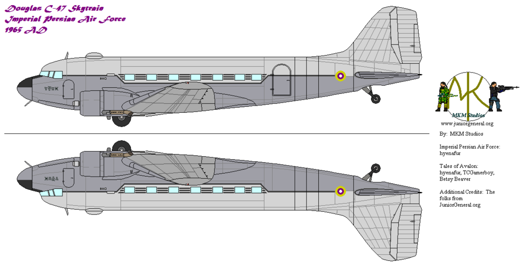 Imperial Persian C-47, 1965