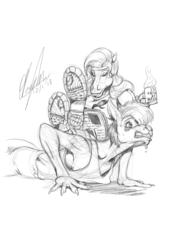Patreon Appreciation Sketch 2