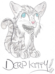 Giftart: Derp Kitty!