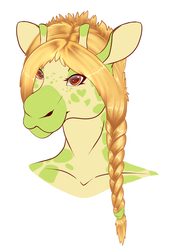 Gina Headshot Freebie by micro-pup