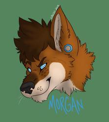 Morgan Headshot Badge