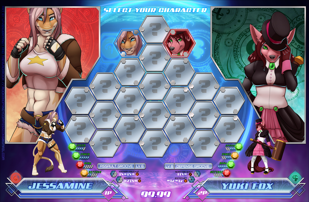 Tournament of Champions [Commission Concept]