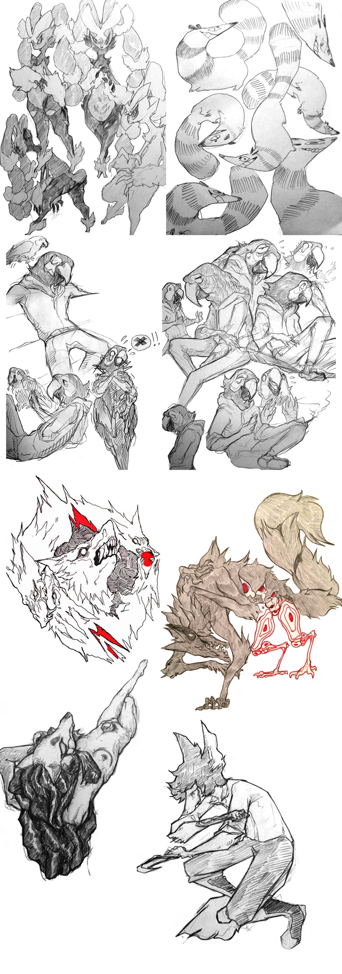 Most recent image: sketch dump