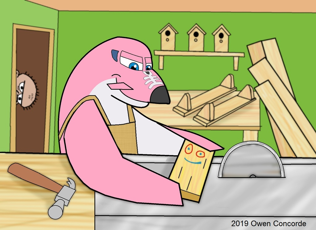 The Pink Woodworker