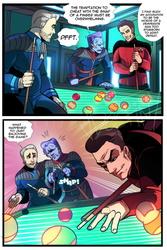 Star Trek OCs vs Q (COMMISSION)