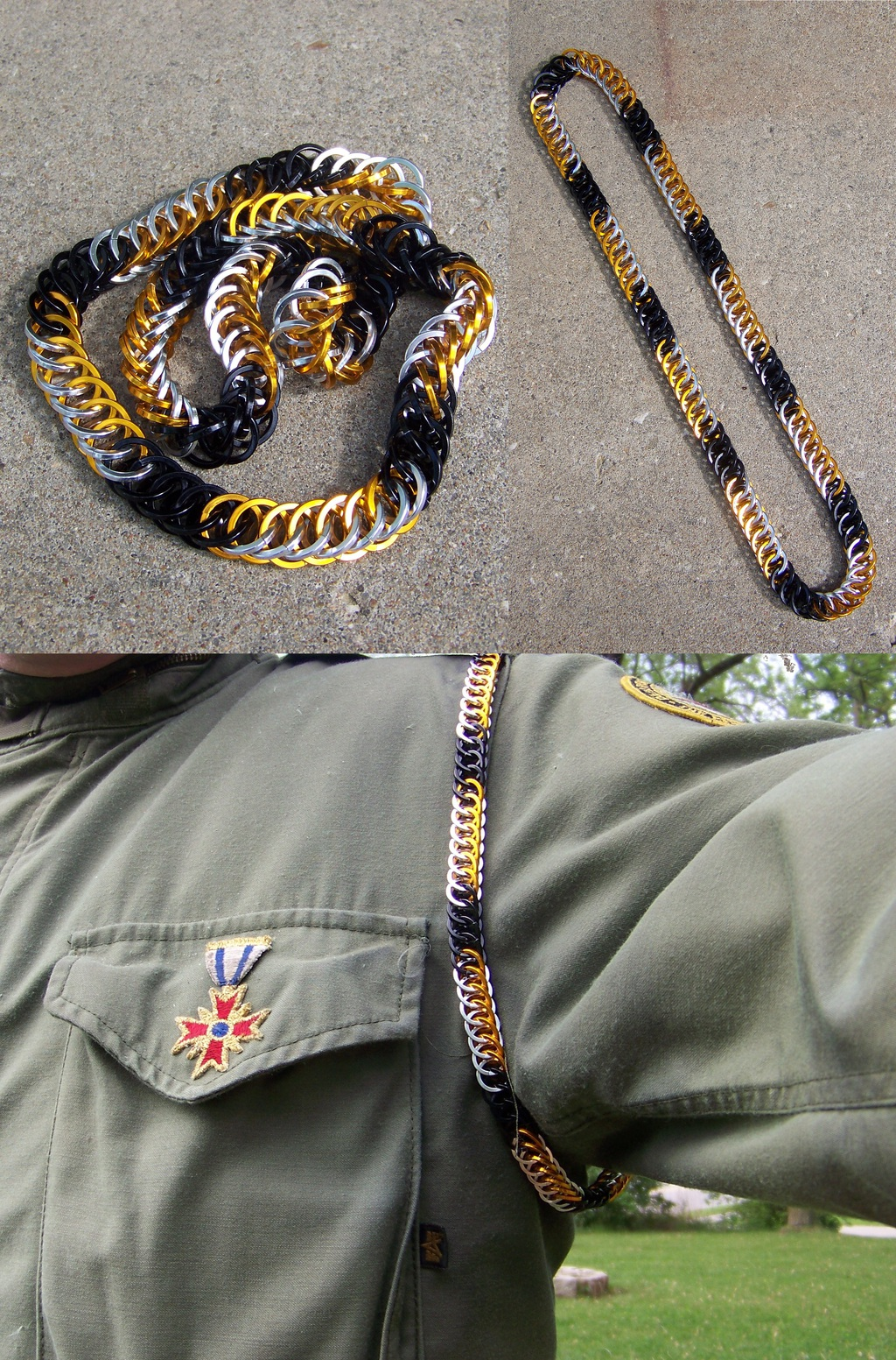 """Maille Projects - Tiger Shoulder """"Rope"""""""