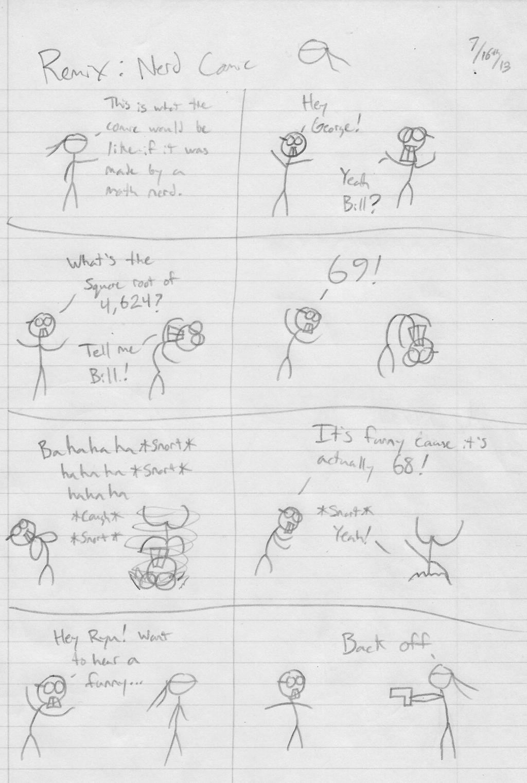 SR Comics #012 Remix: Nerd Comic