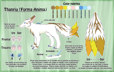 Thanriu - Anima Form Refsheet -ESP-