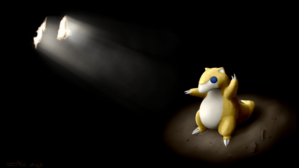 Most recent image: Shining in the darkness