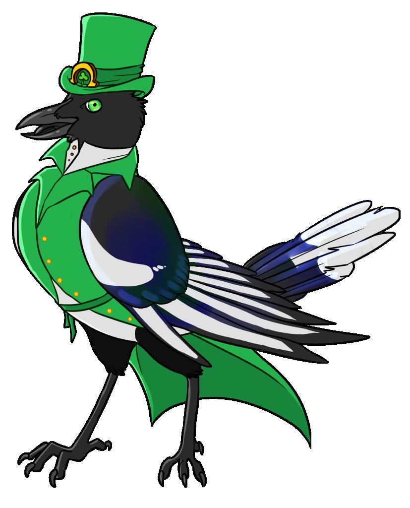 Detective Korvus ~ by Kingfisher-Gryphon (DA)