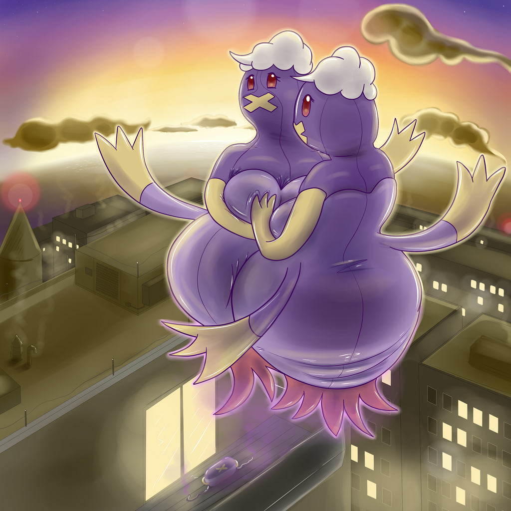 Most recent image: Drifblim Over the City (Post-Transformation)