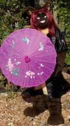Topaz With Umbrella