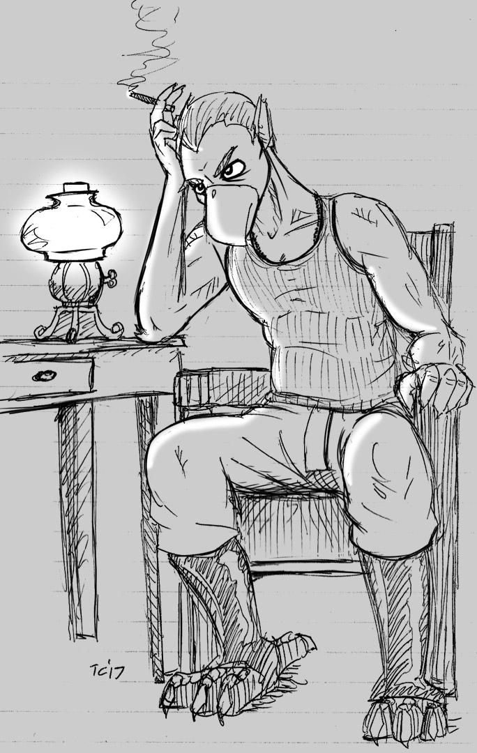 Pensive Schmitt