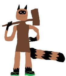 Tawny the raccoon healer
