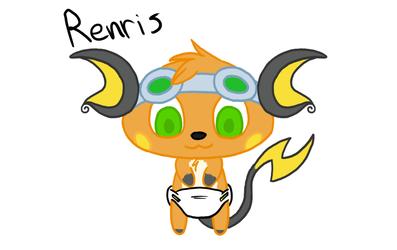 Ren's big head
