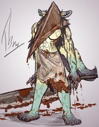 Halloween Sketch - Silent Hill Amethyst Rain