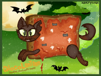 Frosted Chocolate Fudge Nyan Cat