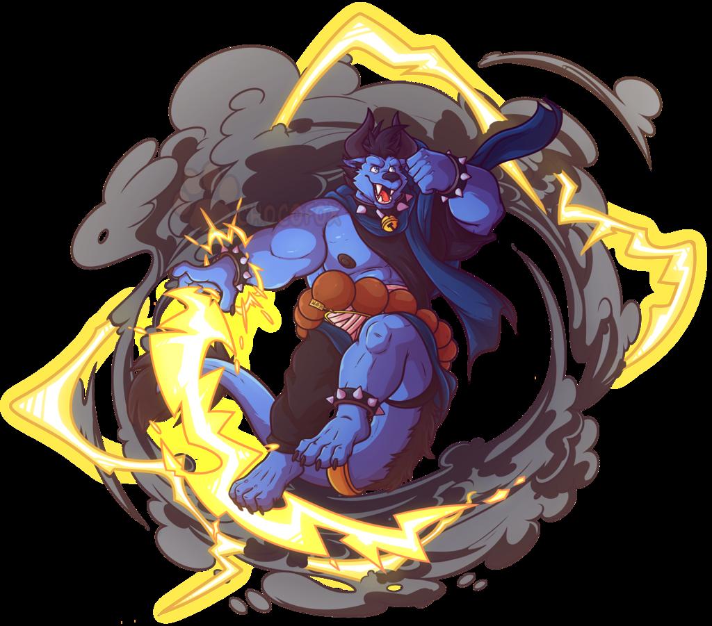 Lightning Monk